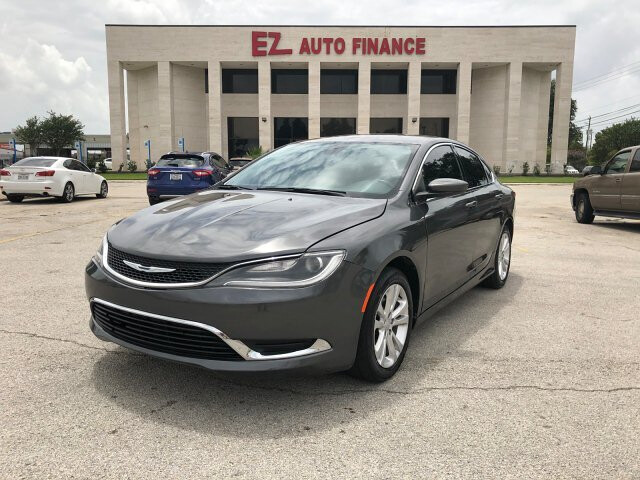 2015 Chrysler 200 Limited 9-Speed Automatic