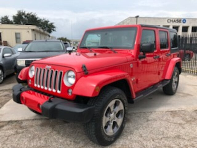 2016 Jeep Wrangler Unlimited Sahara 4WD 6-Speed Manual