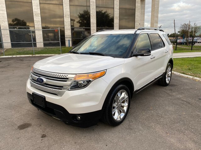2013 Ford Explorer XLT FWD 6-Speed Automatic