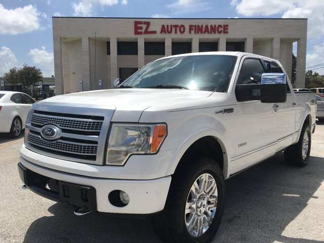 2012 Ford F-150 Platinum SuperCrew 5.5-ft. Bed 4WD 6-Speed A