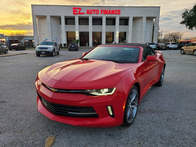 2017 Chevrolet Camaro 1LT Convertible 6-Speed Automatic