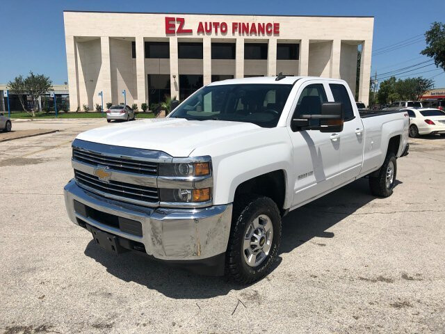 2015 Chevrolet Silverado 2500HD LT Double Cab 4WD 6-Speed Automat
