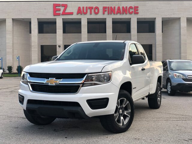 2015 Chevrolet Colorado WT Ext. Cab 2WD 6-Speed Automatic