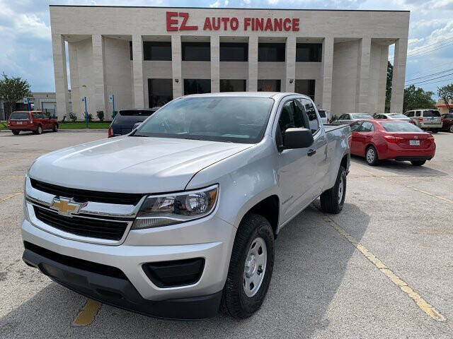 2018 Chevrolet Colorado Work Truck Ext. Cab 2WD 6-Speed Automatic