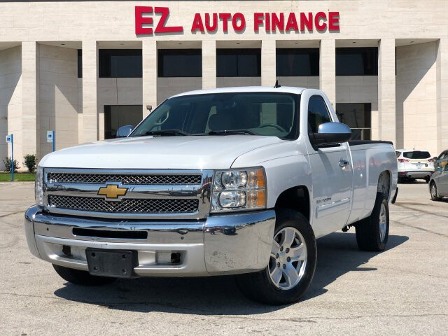 2012 Chevrolet Silverado 1500 LT Long Box 2WD 4-Speed Automatic