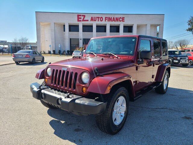 2007 Jeep Wrangler Unlimited Sahara 2WD 4-Speed Automatic