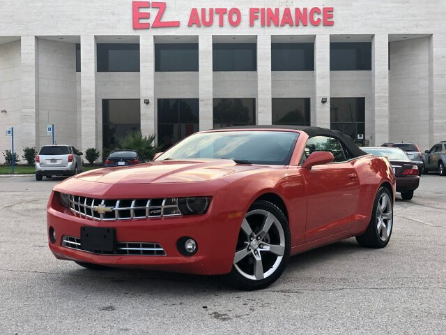 2012 Chevrolet Camaro Convertible 2LT 6-Speed Automatic