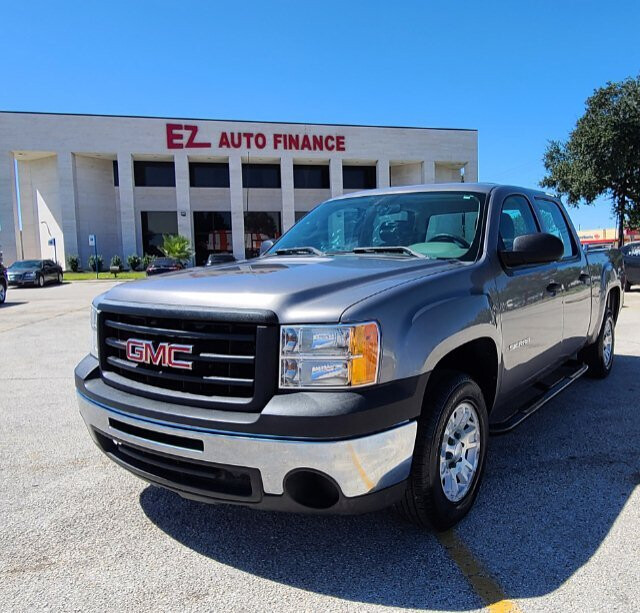 2012 GMC Sierra 1500 Crew Cab 2WD 4-Speed Automatic