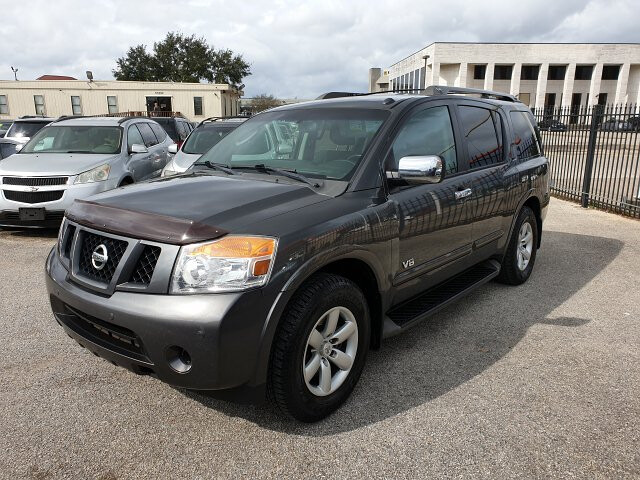 2008 Nissan Armada SE 2WD 5-Speed Automatic Overdrive