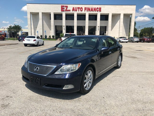 2007 Lexus LS 460 L Luxury Sedan 8-Speed Automatic
