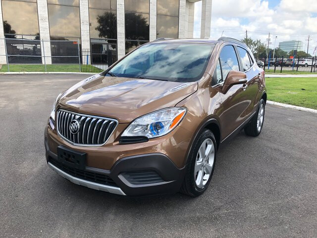 2016 Buick Encore Base FWD 6-Speed Automatic