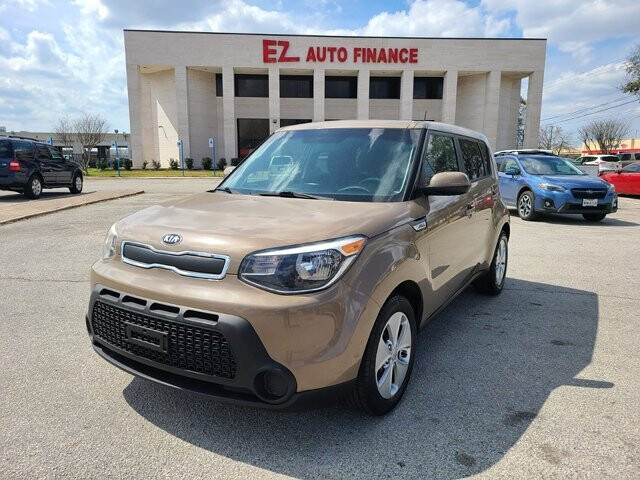 2015 Kia Soul Base 6-Speed Automatic
