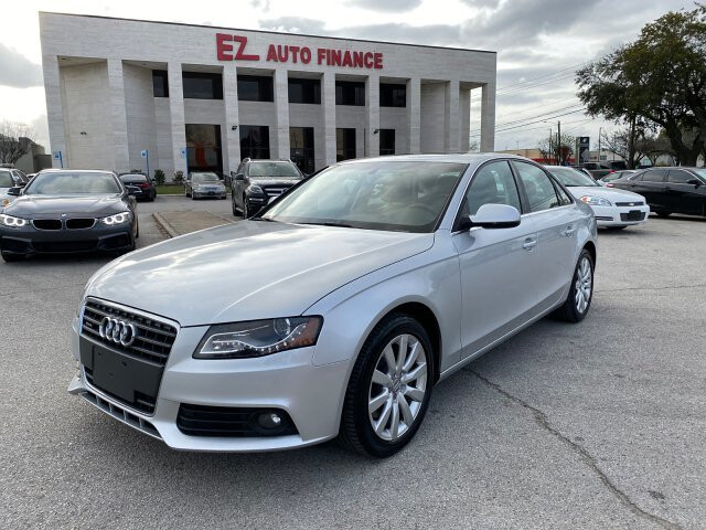 2012 Audi A4 2.0T Sedan quattro Tiptronic 6-Speed Automatic