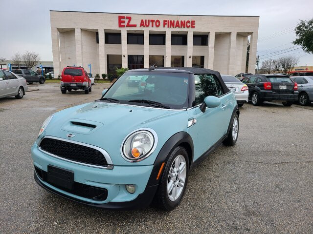 2012 MINI Cooper S Convertible 6-Speed Automatic