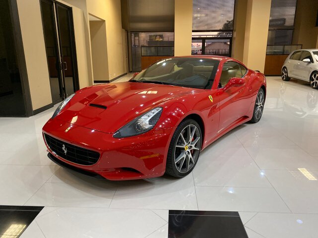 2010 Ferrari California GT 7-Speed Manual