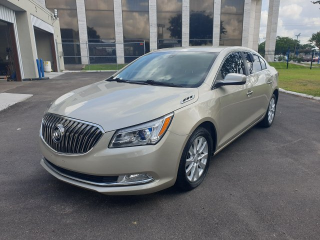 2014 Buick LaCrosse Base 6-Speed Automatic