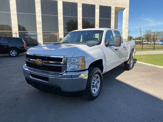 2014 Chevrolet Silverado 3500HD Work Truck Crew Cab 2WD 6-Speed A