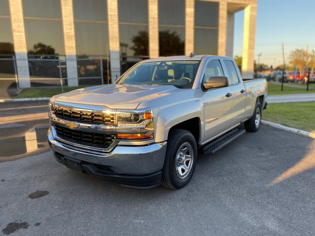 2017 Chevrolet Silverado 1500 Work Truck Double Cab 2WD 6-Speed A